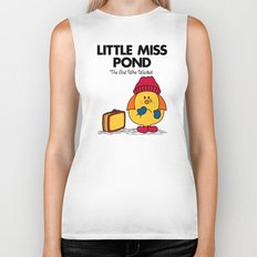 Little Miss Pond Biker Tank