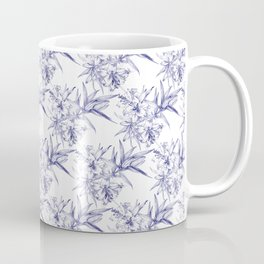 Lilium Speciosum (white) Coffee Mug