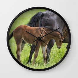 By Mother's Side Wall Clock