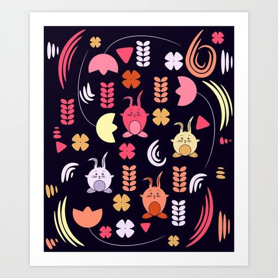 Spring joy Art Print
