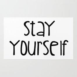 Stay Yourself Rug