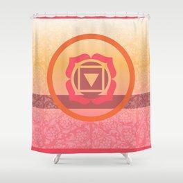 Muladhara  - the root Shower Curtain