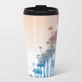 Summer in LA Metal Travel Mug