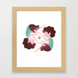 Domadores de Coxinha! Framed Art Print