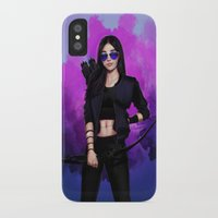 kate bishop iPhone & iPod Cases featuring Kate Bishop by Meder Taab