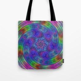 Liquid rainbow Tote Bag