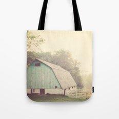 Morning Haze  Tote Bag