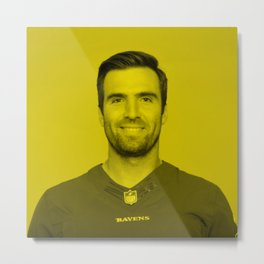 Joe Flacco - Celebrity Metal Print