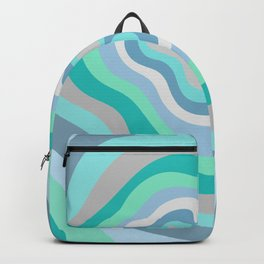Verdon Gorge Canyon Stripes Backpack