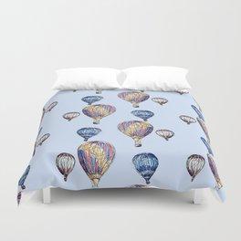Floating Balloons Duvet Cover