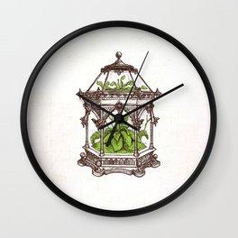 Wardian Case - Wonderful Inventions Wall Clock