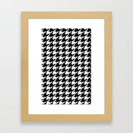dogstooth Framed Art Print