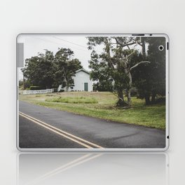 House on the Green - Hilo, Hawaii Laptop & iPad Skin