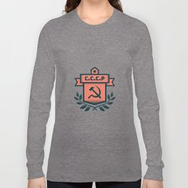 CCCP Modern Coat of Arms Long Sleeve T-shirt