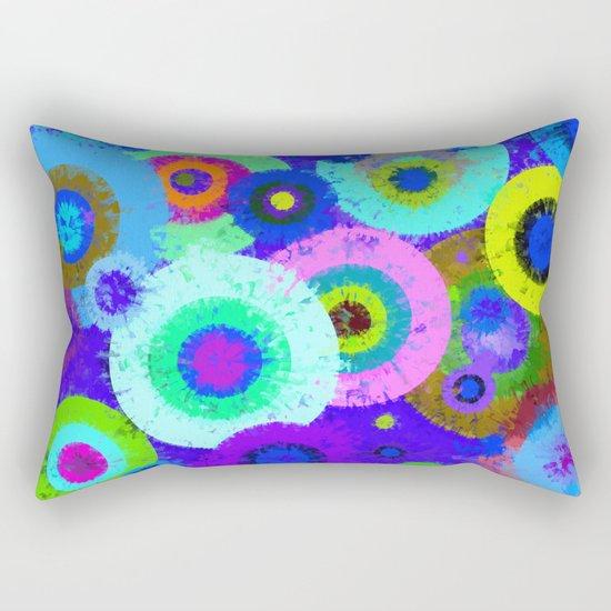 Abstract #423 Splirkles #3 Rectangular Pillow
