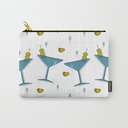 Martini Madness Repeating Pattern Carry-All Pouch