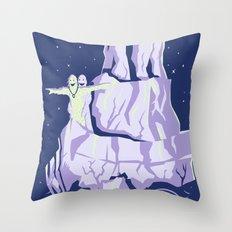 yeti titanic  Throw Pillow