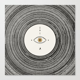Universe Eye Canvas Print