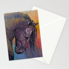 Friesian Horse Stationery Cards