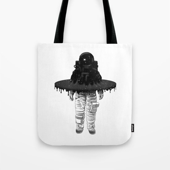 Through the Black Hole Tote Bag