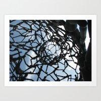 Man Above Art Print