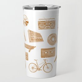 Amusement Industries - Golden Travel Mug