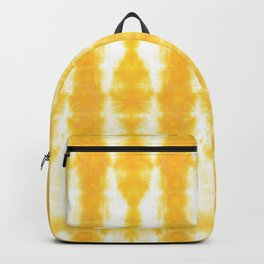 Yellow Tiki Shibori Backpack