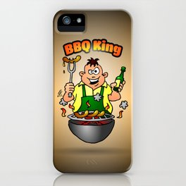 BBQ King iPhone Case