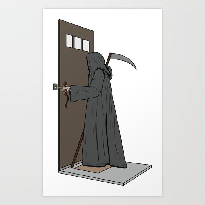 Dead Ringer Art Print
