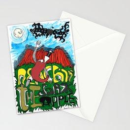 Reachin' The Dark Apple Stationery Cards