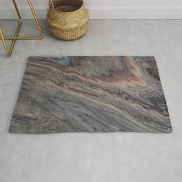 Tobacco and Suede Rug