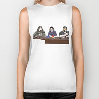 big lebowski Biker Tanks featuring The Big Lebowski by Josh Ross Illustration