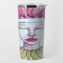 Grow Where You Are Planted Travel Mug
