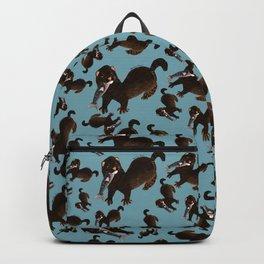 Clever Mink ( Neovison vison) Backpack