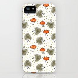 Hedgehog Scatter iPhone Case