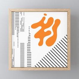 Mid-Century Modern Art Future Framed Mini Art Print