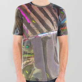 Go High Go Lo All Over Graphic Tee