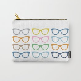 Glasses #3 Carry-All Pouch