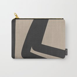 Neutral Abstract 4B Carry-All Pouch