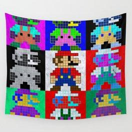 8 Bit Trip Wall Tapestry