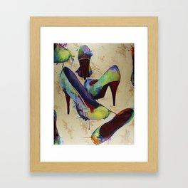 Rainbow Vogue Framed Art Print