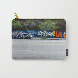Welcome 2 LA by David Hohmann, Westwood Prints.   Carry-All Pouch