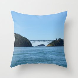 Deception Island Throw Pillow