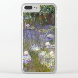 Water Lilies - Monet Clear iPhone Case