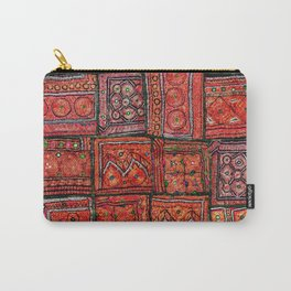 V5 Red Traditional Moroccan Design - A3 Carry-All Pouch