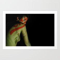 Seeing Red Art Print