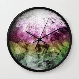 Fascinebula Wall Clock