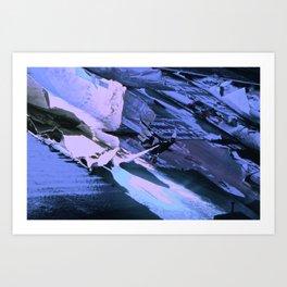 Purple paper Art Print