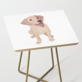 Golden (Lab) Girl Side Table