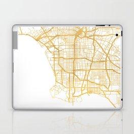 LOS ANGELES CALIFORNIA CITY STREET MAP ART Laptop & iPad Skin